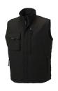 Workwear Bodywarmer bis Gr.4XL / Russell R-014M-0 XL Black