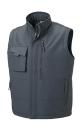 Workwear Bodywarmer bis Gr.4XL / Russell R-014M-0 3XL Convoy Grey