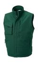 Workwear Bodywarmer bis Gr.4XL / Russell R-014M-0 3XL Bottle Green