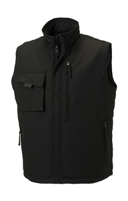 Workwear Bodywarmer bis Gr.4XL / Russell R-014M-0 4XL Black