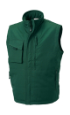 Workwear Bodywarmer bis Gr.4XL / Russell R-014M-0 4XL Bottle Green