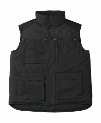 Expert Pro Workwear Bodywarmer bis Gr.4XL / B&C Expert Pro JUC40 S Black