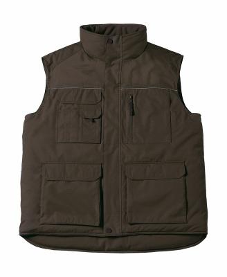 Expert Pro Workwear Bodywarmer bis Gr.4XL / B&C Expert Pro JUC40 S Brown