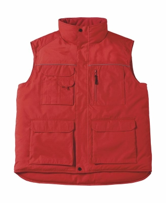 Expert Pro Workwear Bodywarmer bis Gr.4XL / B&C Expert Pro JUC40 M Red