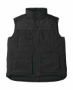 Expert Pro Workwear Bodywarmer bis Gr.4XL / B&C Expert Pro JUC40 L Black
