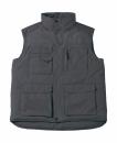 Expert Pro Workwear Bodywarmer bis Gr.4XL / B&C Expert Pro JUC40 L Dark Grey