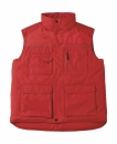 Expert Pro Workwear Bodywarmer bis Gr.4XL / B&C Expert Pro JUC40 L Red