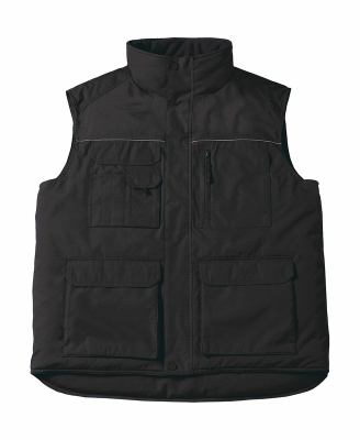 Expert Pro Workwear Bodywarmer bis Gr.4XL / B&C Expert Pro JUC40 XL Black