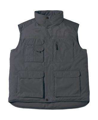 Expert Pro Workwear Bodywarmer bis Gr.4XL / B&C Expert Pro JUC40 XL Dark Grey
