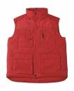 Expert Pro Workwear Bodywarmer bis Gr.4XL / B&C Expert Pro JUC40 XL Red