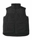 Expert Pro Workwear Bodywarmer bis Gr.4XL / B&C Expert Pro JUC40 2XL Black