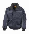 Heavy Duty Jacket bis Gr.3XL / Result R071X S Navy
