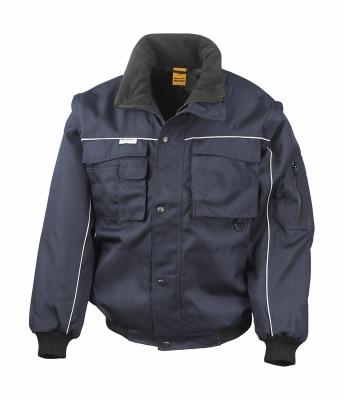 Heavy Duty Jacket bis Gr.3XL / Result R071X M Navy