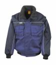 Heavy Duty Jacket bis Gr.3XL / Result R071X L Royal/Navy