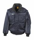 Heavy Duty Jacket bis Gr.3XL / Result R071X 2XL Navy