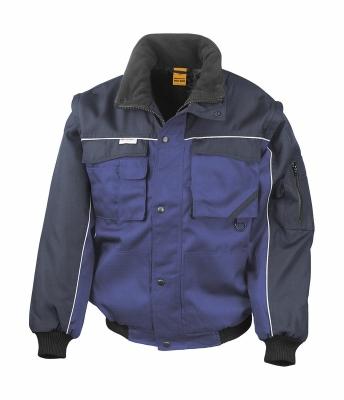 Heavy Duty Jacket bis Gr.3XL / Result R071X 2XL Royal/Navy