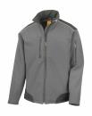 Softshell Arbeitsjacke bis Gr.4XL / Result R124X 4XL Grey/Black