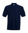 Herren Poloshirt Mischgewebe bis Gr.5XL / Fruit of the Loom 63-402-0 S Deep Navy
