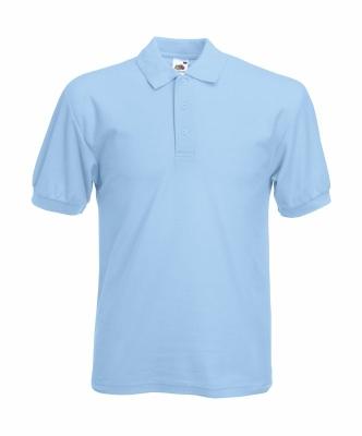 Herren Poloshirt Mischgewebe bis Gr.5XL / Fruit of the Loom 63-402-0 S Sky Blue