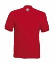 Herren Poloshirt Mischgewebe bis Gr.5XL / Fruit of the Loom 63-402-0 S Red