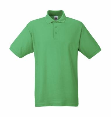 Herren Poloshirt Mischgewebe bis Gr.5XL / Fruit of the Loom 63-402-0 S Kelly Green