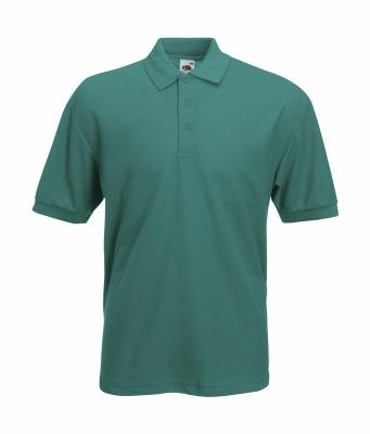 Herren Poloshirt Mischgewebe bis Gr.5XL / Fruit of the Loom 63-402-0 S Emerald