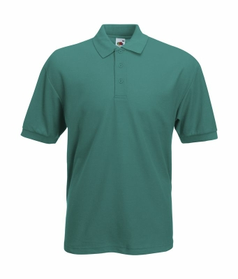 Herren Poloshirt Mischgewebe bis Gr.5XL / Fruit of the Loom 63-402-0 M Emerald