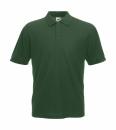 Herren Poloshirt Mischgewebe bis Gr.5XL / Fruit of the Loom 63-402-0 M Bottle Green