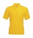 Herren Poloshirt Mischgewebe bis Gr.5XL / Fruit of the Loom 63-402-0 XL Sunflower