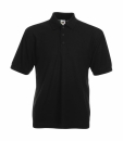 Herren Poloshirt Mischgewebe bis Gr.5XL / Fruit of the Loom 63-402-0 3XL Black