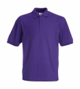 Herren Poloshirt Mischgewebe bis Gr.5XL / Fruit of the Loom 63-402-0 3XL Purple