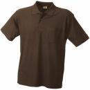 Herren Poloshirt Pocket / James & Nicholson JN026