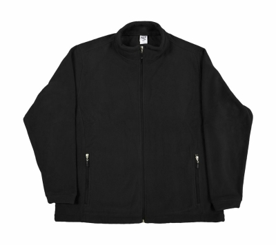 Herren Fleece Jacke / SG80 S Black