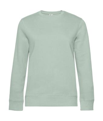 Damen Sweater QUEEN Crew Neck bis Gr.3XL / B&C WW01Q 2XL Aqua Green