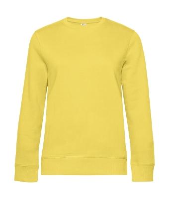 Damen Sweater QUEEN Crew Neck bis Gr.3XL / B&C WW01Q 2XL Yellow Fizz