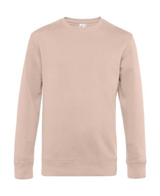 Herren Sweatshirt KING Crew Neck bis Gr.4XL / B&C WU01K 3XL Soft Rose