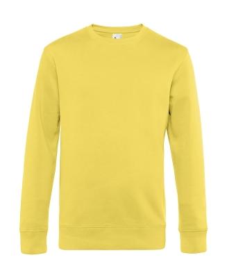 Herren Sweatshirt KING Crew Neck bis Gr.4XL / B&C WU01K 3XL Yellow Fizz