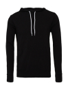Unisex Poly-Cotton Pullover Hoodie bis Gr.2XL / Bella 3719 2XL Black