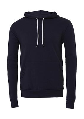 Unisex Poly-Cotton Pullover Hoodie bis Gr.2XL / Bella 3719 2XL Navy