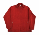 Herren Fleece Jacke / SG80 M Red
