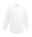Herren Oxford LA Hemd / Fruit of the Loom 65-114-0 / M (39-40) White