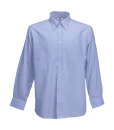 Herren Oxford LA Hemd / Fruit of the Loom 65-114-0 / XL (43-44) Oxford Blue