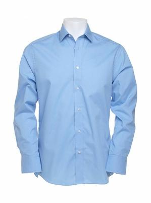 Herren Business Hemd / Kustom Kit KK131 / 17,5 (44cm) XL Light Blue