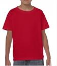 Kinder Shirt  Gildan 5000B / M / 128 (7-8Jahre) Red