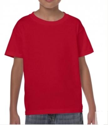 Kinder Shirt  Gildan 5000B / L / 140 (9-11Jahre) Red