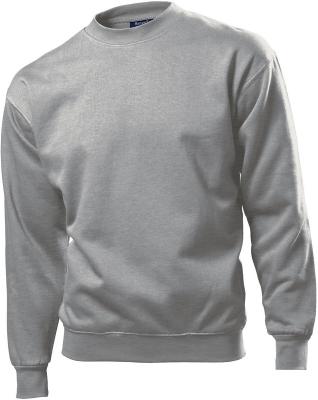 Herren Sweatshirt Set-In / Hanes 6160 / S Heather Grey
