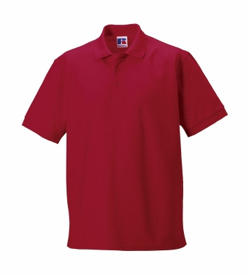 Herren Poloshirt / Russell Europe R-577M-0 / 4XL Classic Red