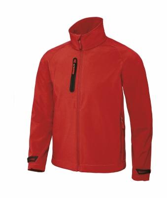 Herren Technical Softshell Jacke JM951 / X-Lite Softshell L Deep Red
