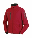 Herren Sports Soft Shell Jacke / Russell Europe 520M L Classic Red