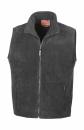 Fleece Bodywarmer-Fleeceweste Result R37 M Black